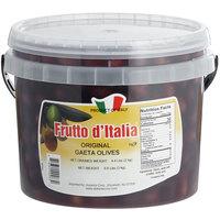 Frutto d'Italia Original Gaeta Olives 280/300 Count - 4.4 lb. (2 kg) Pail