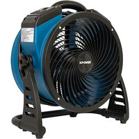 XPOWER P-26AR 4-Speed Industrial Axial Fan with GFCI Power Outlets - 1300 CFM; 115V