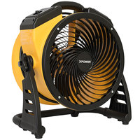 XPOWER FC-100 11 inch 4-Speed Portable Multi-Purpose Whole Room Air Circulator Utility Fan - 1100 CFM; 115V