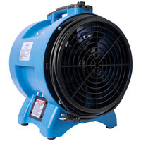 XPOWER X-12 12 inch Variable Speed Industrial Confined Space Ventilator Fan - 1/2 hp