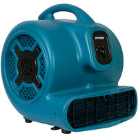 XPOWER P-830 Blue 3-Speed Air Mover - 1 hp