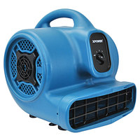 XPOWER P-400 Blue 3-Speed Air Mover - 1/4 hp