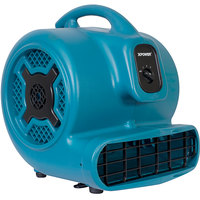 XPOWER X-830 Blue 3-Speed Air Mover - 1 hp