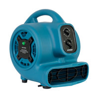 XPOWER P-260NT Freshen Aire Blue 4-Speed Compact Scented Air Mover with Ionizer and Timer - 1/5 hp