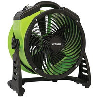 XPOWER FC-200 13 inch 4-Speed Portable Multi-Purpose Whole Room Air Circulator Utility Fan - 1300 CFM; 115V