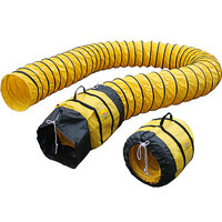 XPOWER 16DH15 16 inch Extra Flexible PVC Ventilation Duct Hose for Select Fans - 15'