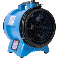 XPOWER X-8 8 inch Variable Speed Industrial Confined Space Ventilator Fan - 1/3 hp