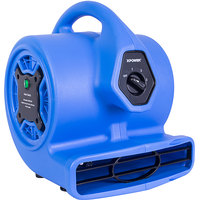 XPOWER P-150N Freshen Aire Blue 3-Speed Compact Scented Air Mover with Ionizer and Refillable Scent Cartridge - 1/8 hp