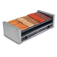 Nemco 8027-SLT Slanted Hot Dog Roller Grill - 27 Hot Dog Capacity (120V)