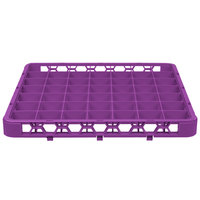 Carlisle RE49C89 OptiClean 49 Compartment Lavender Color-Coded Glass Rack Extender