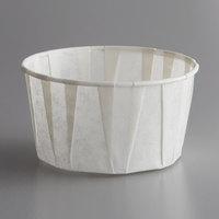 Genpak F400 Harvest Paper 4 oz. Compostable Souffle / Portion Cup - 250/Pack