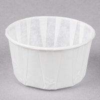 Genpak F400 4 oz. Harvest Paper Souffle / Portion Cup - 250/Pack