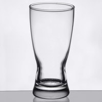 Libbey 1178HT Hourglass 10 oz. Rim Tempered Pilsner Glass - 24/Case