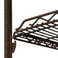 Metro HDM2136Q-DCH qwikSLOT Drop Mat Copper Hammertone Wire Shelf - 21 inch x 36 inch