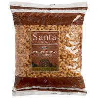 1 lb. Bag Whole Wheat Elbow Macaroni Pasta - 20/Case