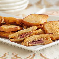 Les Chateaux de France 1.2 oz. Mini Reuben Sandwich - 60/Case