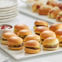Les Chateaux de France 0.9 oz. Mini Angus Cheeseburgers - 60/Case