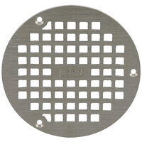 Zurn PN400-5B-STR 5 inch Round Type B Polished Nickel Bronze Grate for Z400 Floor Drains