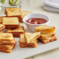 Les Chateaux de France 0.7 oz. Apricot & Brie Grilled Cheese Sandwich - 90/Case