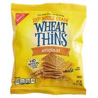 Nabisco Wheat Thins 1.75 oz. Original Cracker Snack Pack   - 72/Case