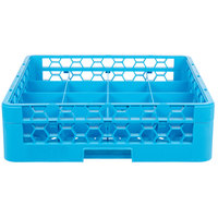Carlisle RC16-114 OptiClean 16 Compartment Tilted Cup Rack with One Extender