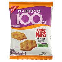Nabisco Cheese Nips .74 oz. Thin Crisps Snack Pack   - 72/Case