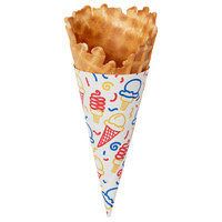 Colosso® WCSJ Jacketed Waffle Cone Small - 264/Case