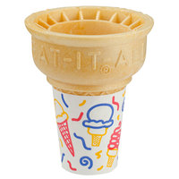 Eat-It-All® 34SJ Jacketed Cake Cup Sleeve - 600/Case