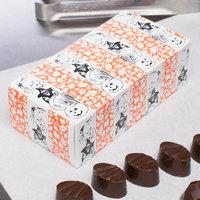5 1/2 inch x 2 3/4 inch x 1 3/4 inch 1-Piece 1/2 lb. Halloween Candy Box - 250/Case