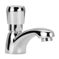 Zurn Z86100-XL-3M Deck Mount Single Basin Metering Faucet with 3 3/4 inch Cast Spout (0.5 GPM)