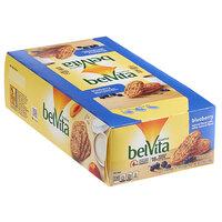 Nabisco belVita 4-Count (1.76 oz.) Blueberry Breakfast Biscuit Snack Pack - 64/Case