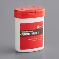 CDN PW90 Anti-Bacterial Thermometer Probe Wipes   - 90/Pack
