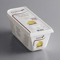 Les Vergers Boiron 2.2 lb. Lemon 100% Fruit Puree - 6/Case