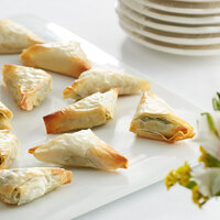 Les Chateaux de France 0.6 oz. Greek Spanakopita - 160/Case