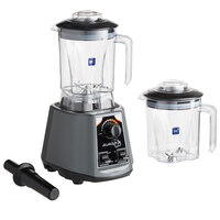 Avamix BL2VS482J 2 hp Commercial Blender with Toggle Control, Adjustable Speed, and Two 48 oz. Polycarbonate Containers