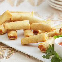 Les Chateaux de France 0.9 oz. Vegetable Spring Roll - 100/Case