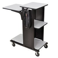 Luxor WPS4HDE Presentation Station Cart - 34 inch x 18 inch x 38 inch