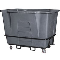 Toter AM120-54720 2 Cubic Yard Graystone Universal Mobile Waste Receptacle (2300 lb. Capacity)