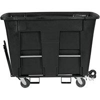 Toter AMT10-00BKS 1 Cubic Yard Black Towable Universal Mobile Truck (1000 lb. Capacity)