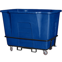 Toter AM120-54721 2 Cubic Yard Blue Universal Mobile Waste Receptacle (2300 lb. Capacity)