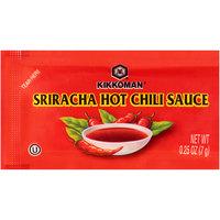 Kikkoman 7 Gram Sriracha Hot Chili Sauce Packet - 500/Case