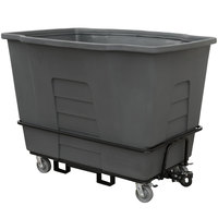 Toter AMT20-00IGY 2 Cubic Yard Gray Towable Universal Mobile Truck (2300 lb. Capacity)