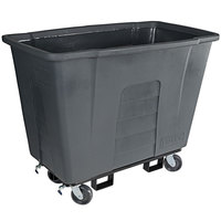 Toter AM110-00IGY 1 Cubic Yard Graystone Universal Mobile Waste Receptacle (1000 lb. Capacity)
