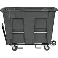 Toter AMT10-00IGY 1 Cubic Yard Gray Towable Universal Mobile Truck (1000 lb. Capacity)