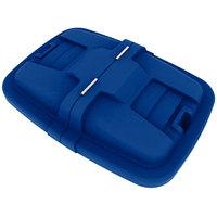 Toter LMC12-00BLU Blue Removable Split Lid for 12 Cubic Foot Cube Trucks