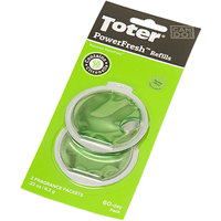 Toter PFRF0-15ICI PowerFresh Citrus Scented Odor Eliminator Refill - 2/Pack