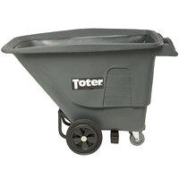 Toter UT005-00IGY 0.5 Cubic Yard Graystone Tilt Truck / Trash Cart (400 lb.)