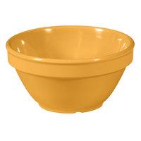 GET BC-170-TY Diamond Mardi Gras 8 oz. Tropical Yellow Melamine Bowl - 48/Case