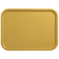 Carlisle CT121621 Customizable Cafe 12 inch x 16 inch Gold Standard Plastic Fast Food Tray - 24/Case