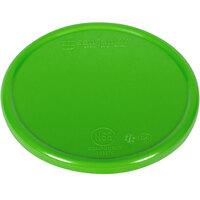 San Jamar / Escali SCDG11PLTGN 5 1/2 inch Green Plastic Platform Cover for 11 lb. Round Digital Scales